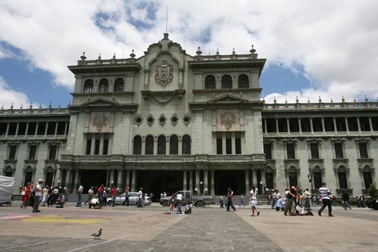 La Plaza de la Constitución, frente al Palacio Nacional de la Cultura, será el escenario de los festejos. (Foto Prensa Libre: Hemeroteca PL)