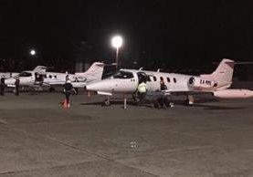 Ambulancias aéreas esperan a las cuatro menores para trasladarlas al Hospital Shriners, en Galveston, Texas, EE. UU. (Foto Prensa Libre: Cortesía)
