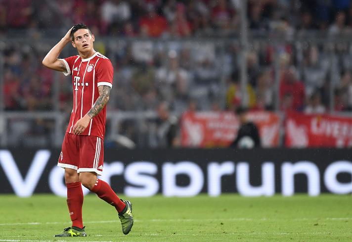 James Rodríguez prende las alarmas en la Selección Colombia