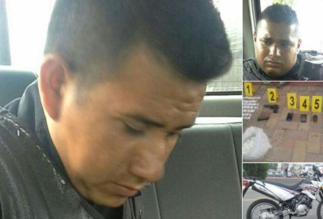 Los exagentes de la PNC, César Arturo Arriaza Gómez y Óscar Oswaldo Martínez Grijalva fueron encontrados culpable de tráfico de drogas., (Foto Prensa Libre: Hemeroteca PL)