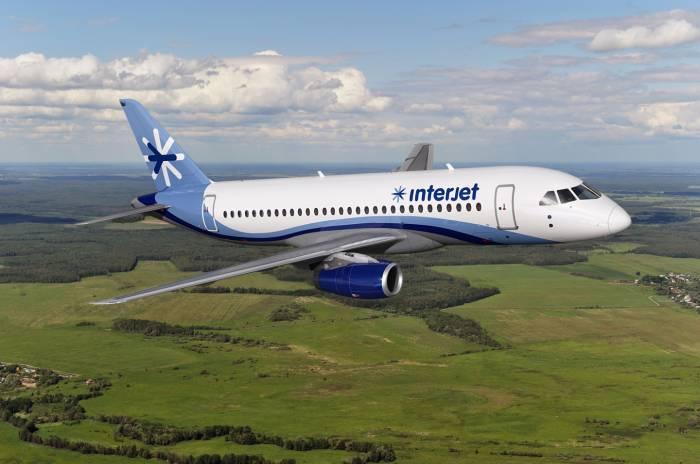 Interjet tiene más de 20 aviones rusos Superjet100.