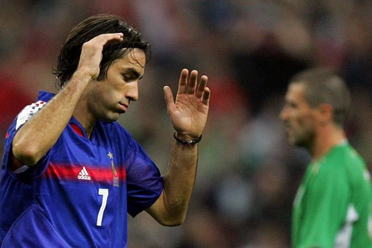 Robert Pires fue parte de la selección de Francia que ganó el Mundial de 1998. (Foto Prensa Libre: Hemeroteca)