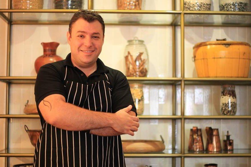 Erick Vogel es chef  del hotel Intercontinental. (Foto Prensa Libre: Esbin García)