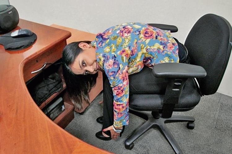 En la oficina se puede hacer ejercicio. (Foto Prensa Libre: Érick Ávila)