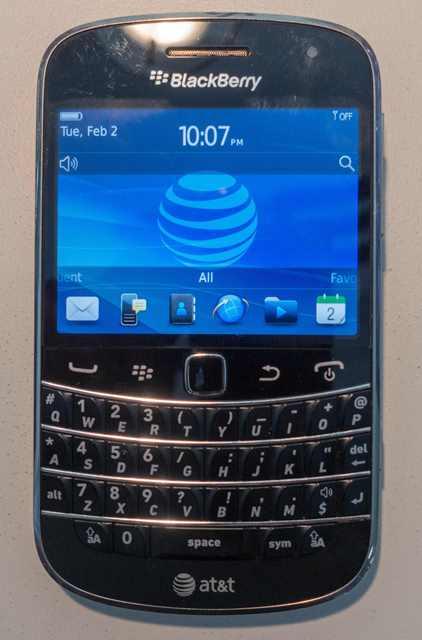 El teclado físico es uno de los sellos de la marca BlackBerry, presente en la mayoría de sus smartphones. (Foto Prensa Libre: AFP).