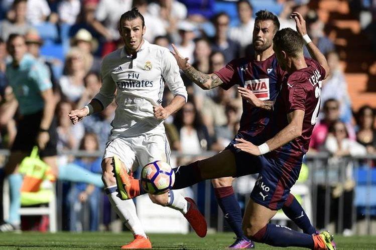 Gareth Bale fue el hombre de peligro para el Real Madrid. (Foto Prensa Libre: EFE)