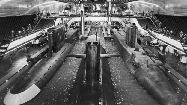 """El malvado de la película de James Bond """"El espía que me amó"""" se imaginó una civilización submarina... Pero la realidad no alcanza todavía a la fantasía en eso. (GETTY IMAGES)"""