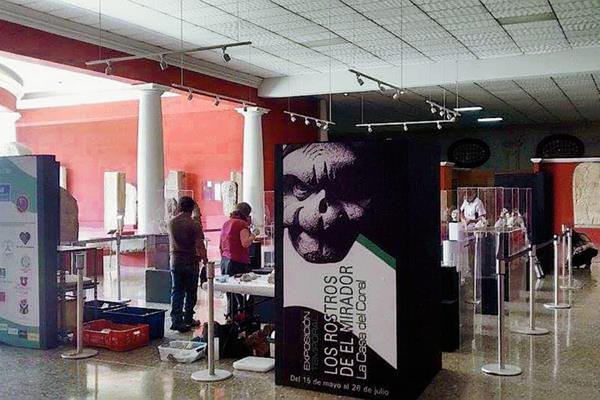 A partir del 14 de mayo a las 18:30 horas, estará abierta la exposición Los rostros del Mirador, La casa Coral, en el Museo Nacional de Arqueología y Antropología de Guatemala, situado en el Edificio número 5, Finca La Aurora, zona 13, de la capital.