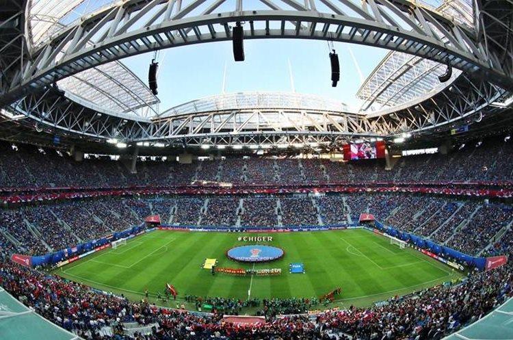 El estadio de San Petersburgo acogió la final entre Alemania y Chile. Lució sus mejores galas e impecable.