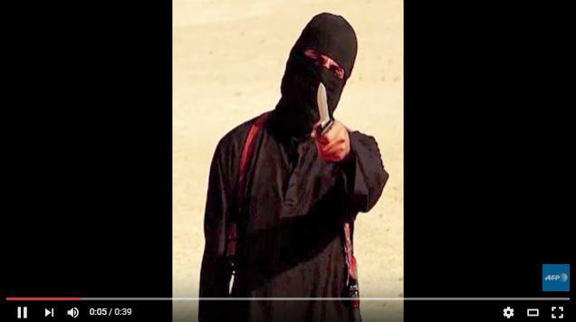 """Mohammed Emwazi, conocido como """"Jihadi John"""" (John el yihadista), aparece en varios videos de decapitación de rehenes, murió en noviembre 2015 en un bombardeo en Raqa. (Foto Prensa Libre: AFP)."""