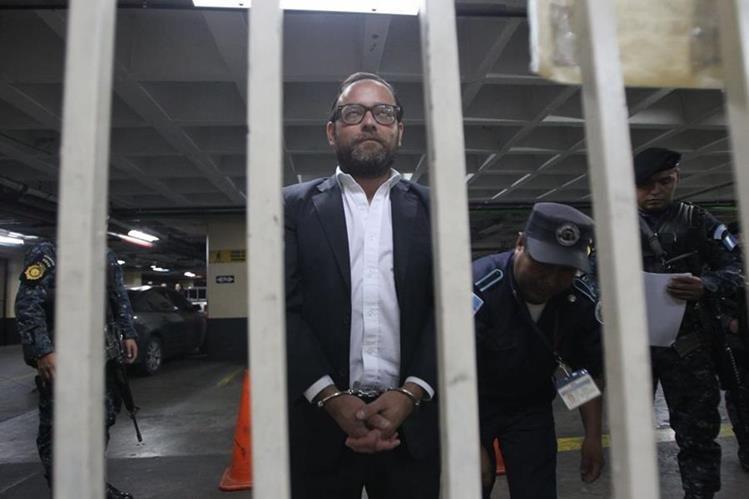 Juan Arturo Jegerlehner Morales es sindicado de obstrucción a la justicia y lavado de dinero y otros activos. (Foto Prensa Libre: Erick Ávila)