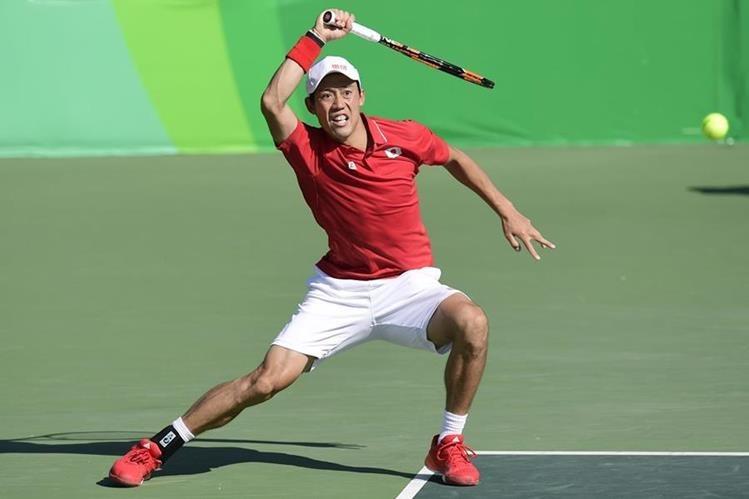 Nishikori dio un golpe a Nadal al dejarlo sin medalla en Río. (Foto Prensa Libre: AP)