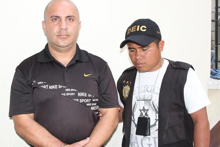 "<span style=""font-size: 12px;"">Josué Alexander Colindres Pérez, de 33 años, fue detenido en Chinautla.( Foto Prensa Libre: PNC)</span>"