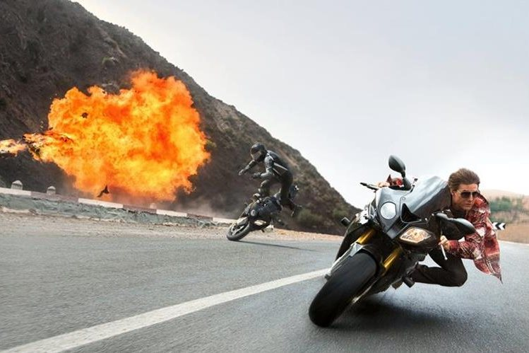 """La quinta entrega de """"Misión imposible"""", continúa con Tom Cruise como protagonista. (Foto Prensa Libre, AP)"""