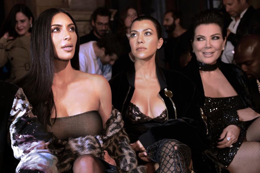 La familia Kardashian ha estado en el ojo del huracán luego del millonario robo. (Foto Prensa Libre: AFP).