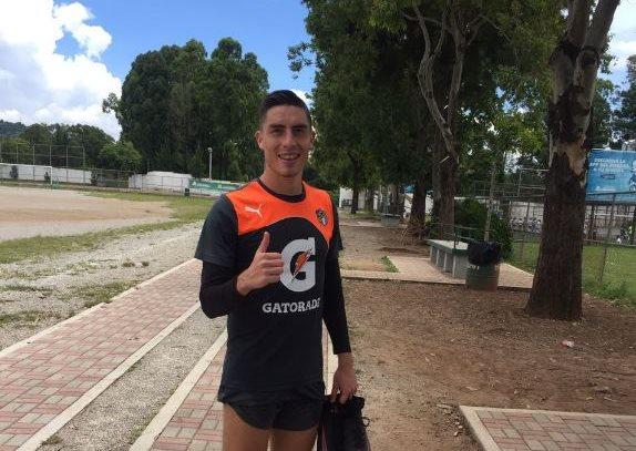 Elías Enoc Vásquez ya puede ser opción en el equipo de Ronald González después de recibir su pase internacional. (Foto Prensa Libre: La Red)