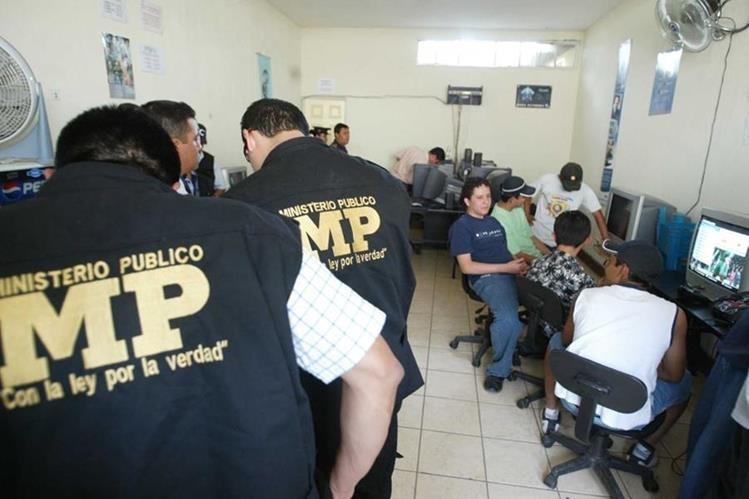 El Ministerio Público podrá detectar en la redes sociales y sitios en internet a las personas que difundan pornografía infantil. (Foto Prensa Libre: Hemeroteca PL)