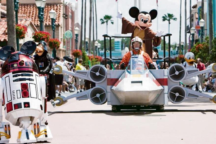 La fuerza llegó a Hollywood Studios de Disney que tiene  atracciones inspiradas en la saga.