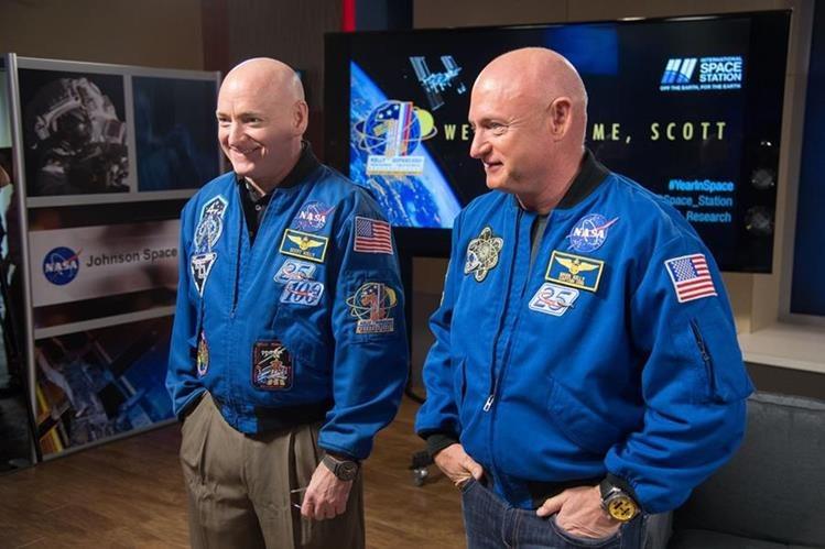 Los Kelly ya no son gemelos idénticos: el ADN del hermano que pasó un año en el espacio ha cambiado un 7%