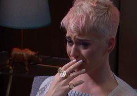 La cantante se concibe a sí misma con dos personalidades: una, Katheryn Hudson, su nombre real. La otra, Katy Perry, que tiene relación con su imagen pública. (Foto Prensa Libre: europafm.com)
