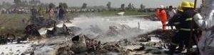 Se estrella avión en Birmania.