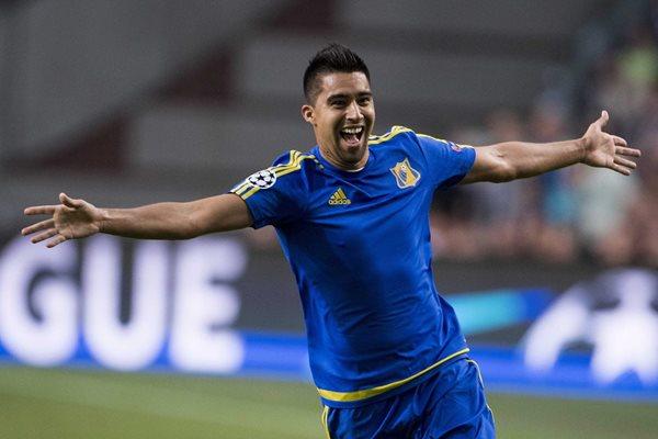 Christian Noboa es jugador del FK Rostov. (Foto Prensa Libre: EFE)