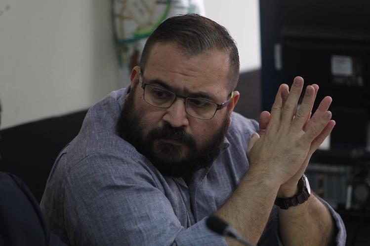 Javier Duarte, exgobernador de Veracruz, México, aceptó ser extraditado ante un Tribunal de Guatemala. (Foto Prensa Libre: Hemeroteca)