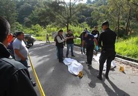 Los cuerpos decapitados de una pareja de adolescentes fueron hallados en la zona 11 capitalina. (Foto Prensa Libre: Hemeroteca PL)