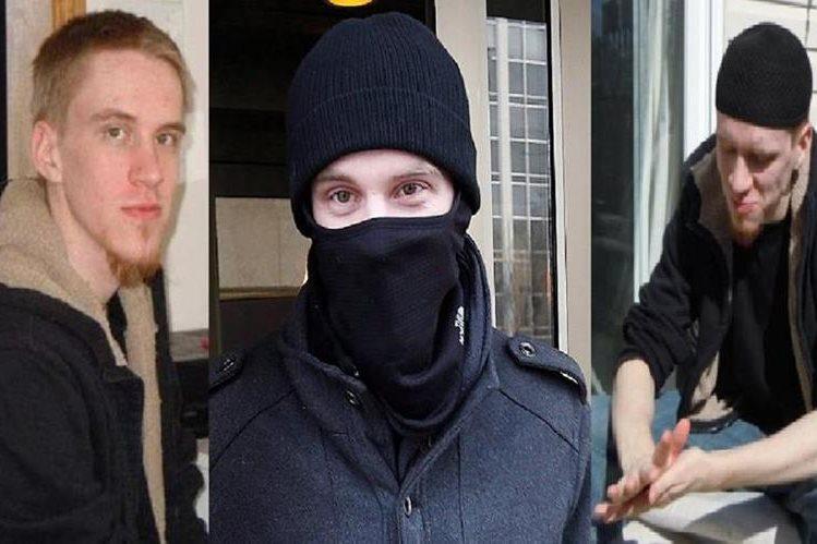 Aaron Driver, canadiense que había sido detenido por expresar simpatías con el EI.(AFP).