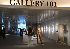 La exhibición estará abierta 17 días consecutivos en la galería de un centro de negocios de clase mundial. (Foto Prensa Libre: Cortesía Agexport)