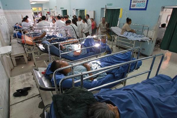 El Ministerio de Salud confirmó que 19 personas fueron infectadas de Salmonella y estuvieron hospitalizadas. (Foto Prensa Libre: Hemeroteca PL)