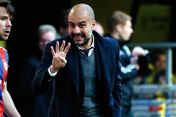 Pep Guardiola deberá afrontar el duelo del Bayern Múnich frente al Leverkusen con varias bajas. (Foto Prensa Libre: AFP).