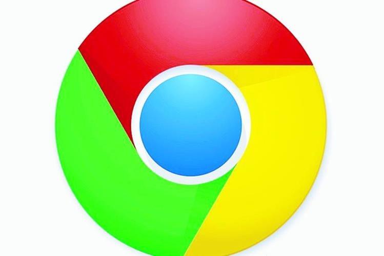 Logo de Chrome, el popular navegador de Google (Foto: Hemeroteca PL).
