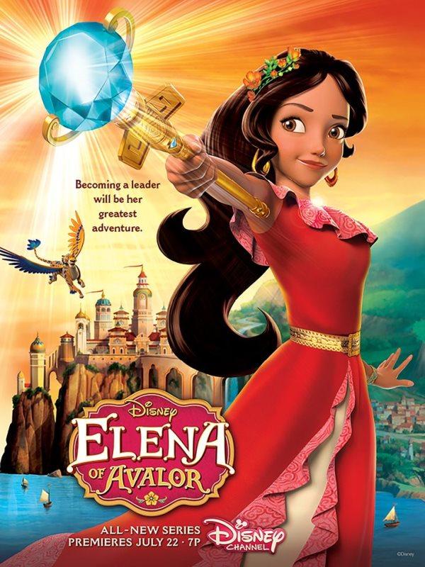 La serie animada Elena de Avalor se estrenará en julio. (Foto Prensa Libre: Disney)