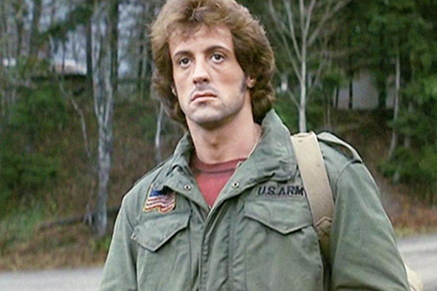 Rambo es una de la películas más populares de Sylvester Stallone. (Foto Prensa Libre: Hemeroteca PL)