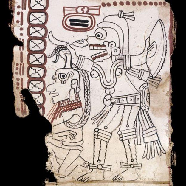 Las páginas aluden a rituales de los mayas que podrían servir de guía para sacerdotes y otros dignatarios de la época para sus actividades cotidianas del calendario. ENRICO FERORELLI