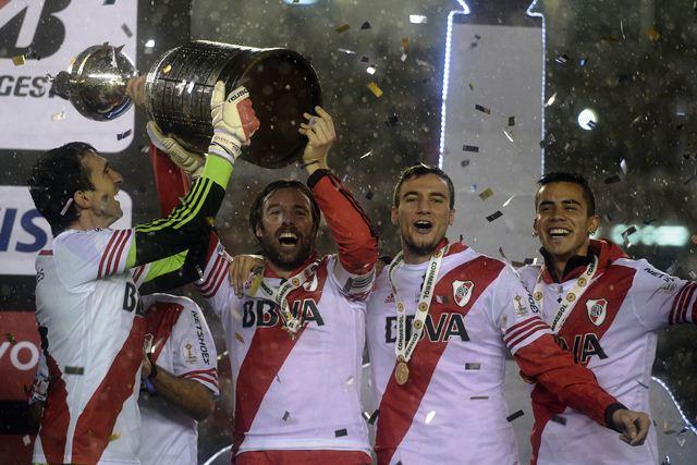 River Plate campeón de la Copa Libertadores 2015. (Foto Prensa Libre: EFE)