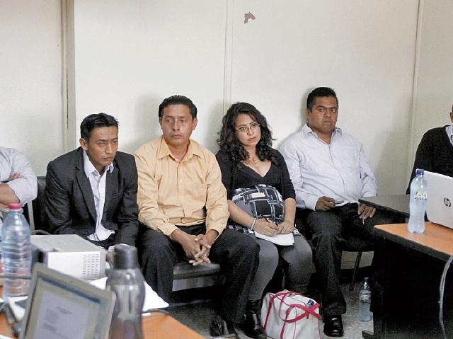 Seis extrabajadores del exdiputado Carlos Herrera comparecen  en el Juzgado Décimo Penal.