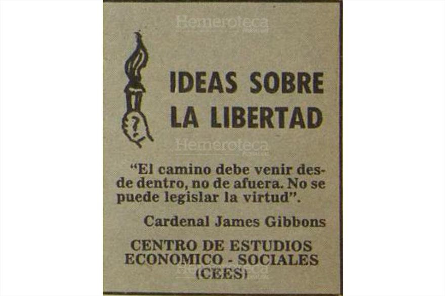 Ideas sobre la libertad se publicó por varios años. (Foto: Hemeroteca PL)