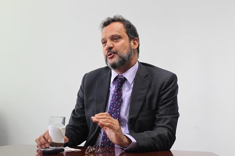 José Orive, director ejecutivo de la Organización Internacional del Azúcar (OIA) (Fotografía Prensa Libre: Esbin Garcia)