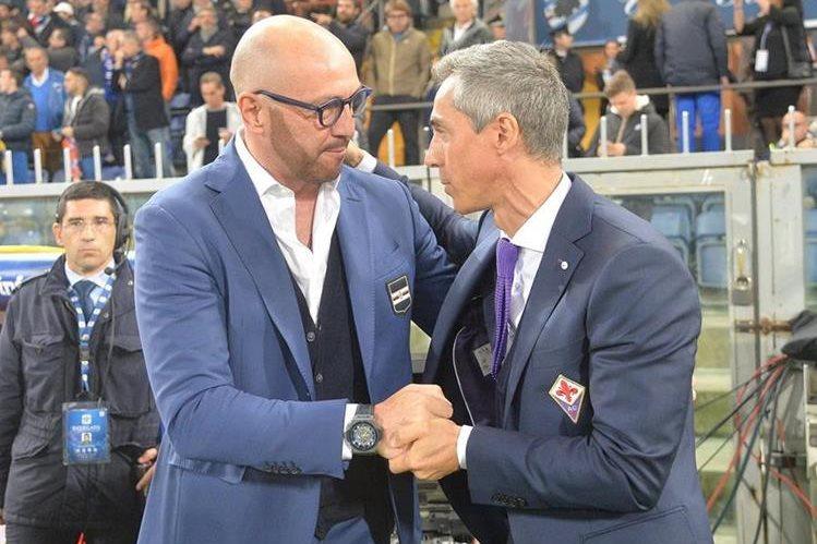 El exportero italiano Walter Zenga fue destituído como entrenador de la Sampdoria. (Foto Prensa Libre: EFE)