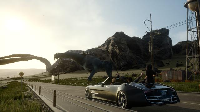Para moverse por el mundo del juego los personajes utilizan un vehículo descapotable. (Foto: Hemeroteca PL).