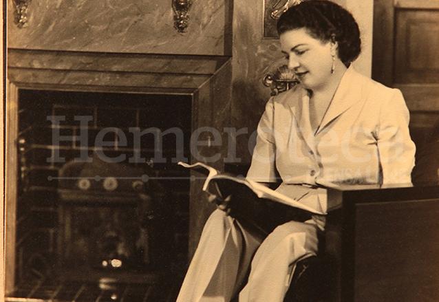 Doña Marta Lainfiesta Dorión, esposa del general Ubico. (Foto: Álbum de familia Altolaguirre)