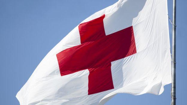 Una cruz de color rojo: uno símbolos de los más reconocidos, poderosos y respetados.GETTY IMAGES