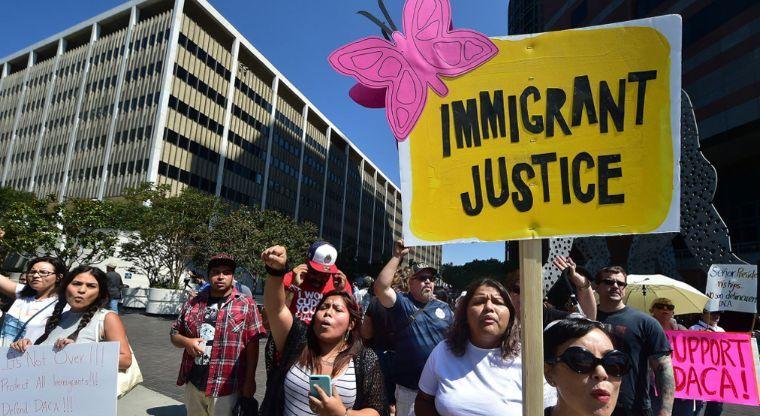 Las medidas antimigratorias de Trump han causado varias protestas. (Foto: Hemeroteca PL)