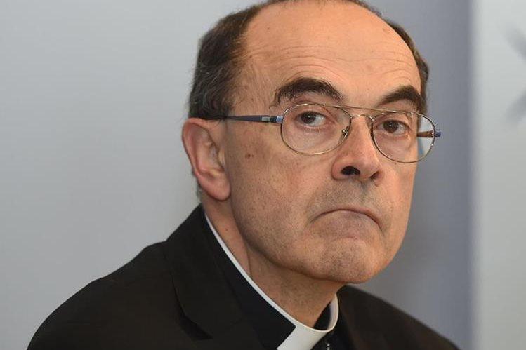 El cardenal católico Philippe Barbarin, arzobispo de Lyon. (Foto Prensa Libre: AFP).