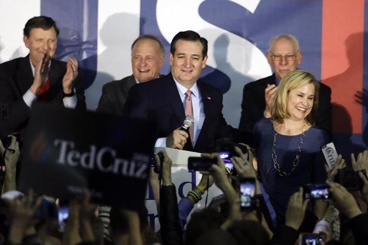 El candidato republicano Ted Cruz. (Foto: Prensa Libre/AP).