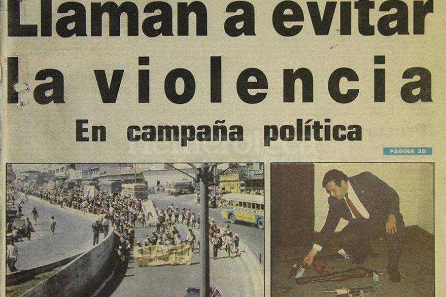 Portada del 21 de febrero de 1990. La foto principal es de la protesta campesina. (Foto: Hemeroteca PL)