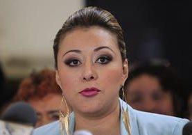 El TSE decidió no adjudicar la curul a Emilenne Mazariegos por falta de idoneidad. (Foto Prensa Libre: Hemeroteca PL)