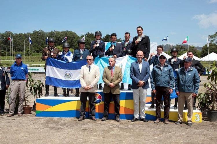 Guatemala domino la prueba completa en el Festival Deportivo 2017 seguido por El Salvador y Honduras. (Foto COG).